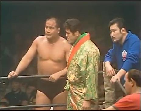 大木金太郎は、上田馬之助とともにアントニオ猪木のセコンド