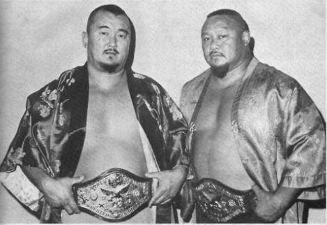 ミスター・フジとプロフェッサー・タナカ